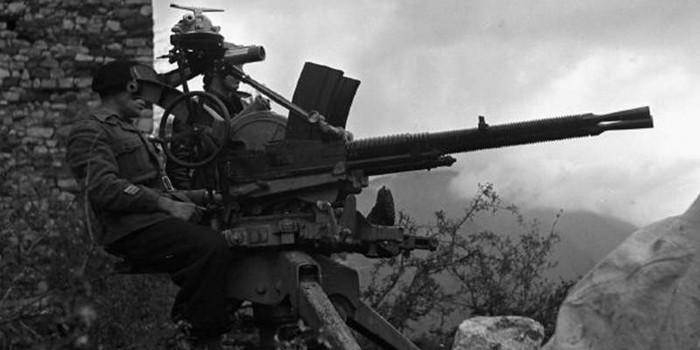 Спаренный 13,2-мм пулемёт Гочкиса M1929