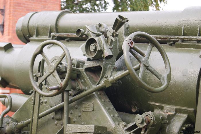 Гаубица Б-4 конструкция