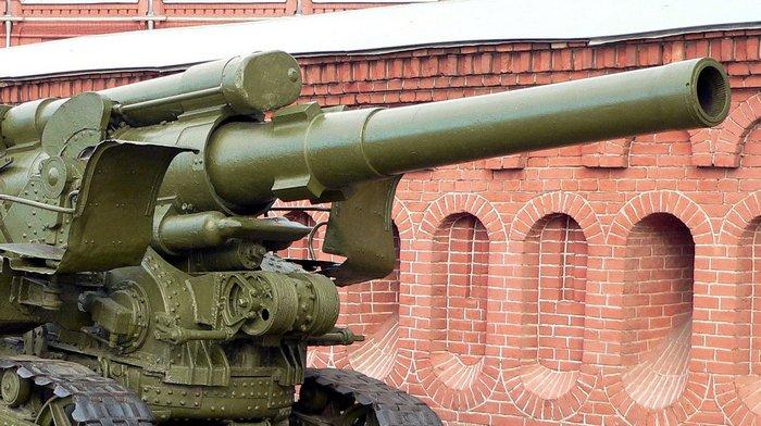 Гаубица Б-4 ствол