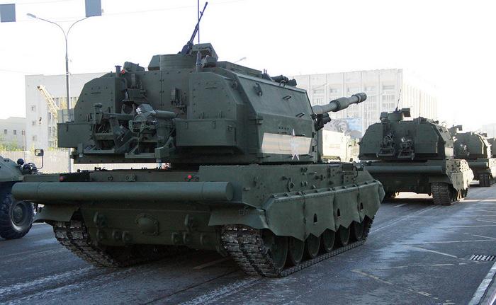 "САУ 2С35 ""Коалиция-СВ"" сзади"