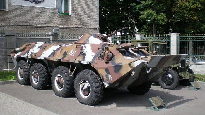 БТР-70 в музее