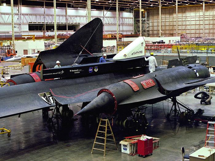 Lockheed SR-71 Blackbird engine