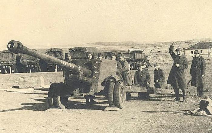БС-3 военное фото