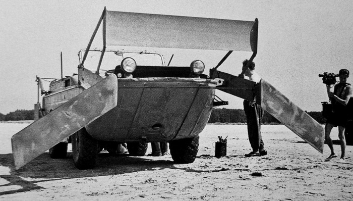 ГАЗ 46 амфибия