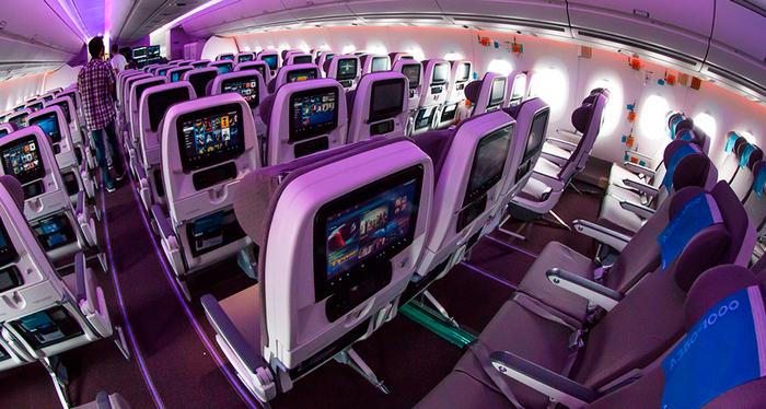 Салон Airbus A350-1000