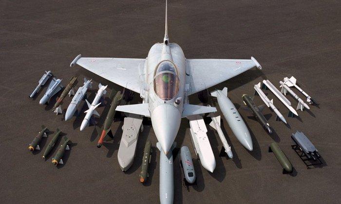 Eurofighter Typhoon вооружение