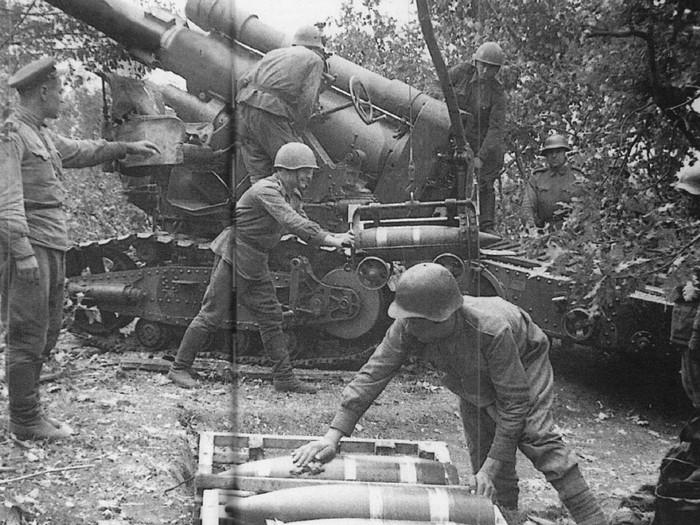 Заряд для 203-мм гаубицы б4
