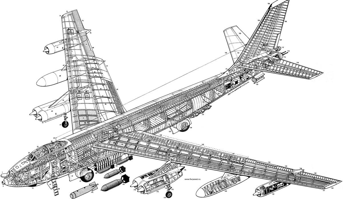 Б-47 конструкция
