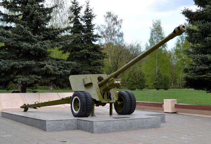 Советская пушка БС 3