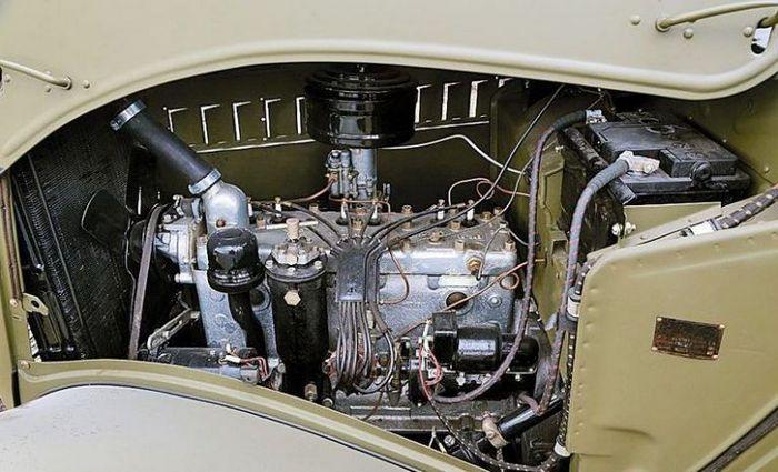 Газ-61 двигатель