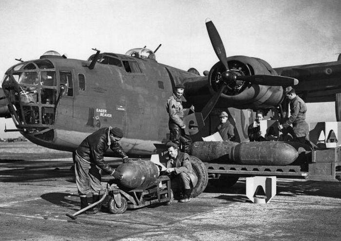 Consolidated B-24 Liberator бомбы