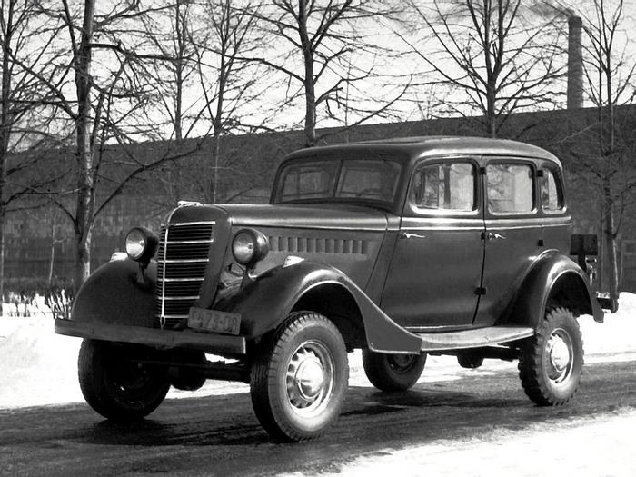 ГАЗ-61-73 выпуска 1942 года