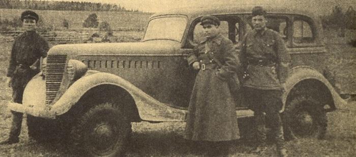 ГАЗ-61 в армии