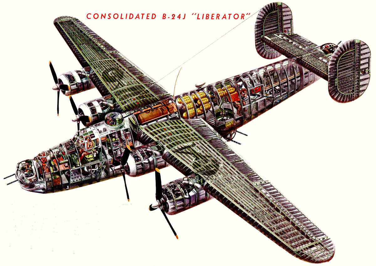 Б-24 конструкция