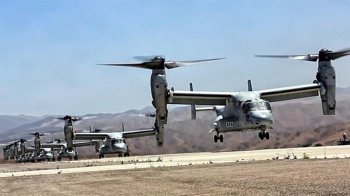 Bell V-22 Osprey фото