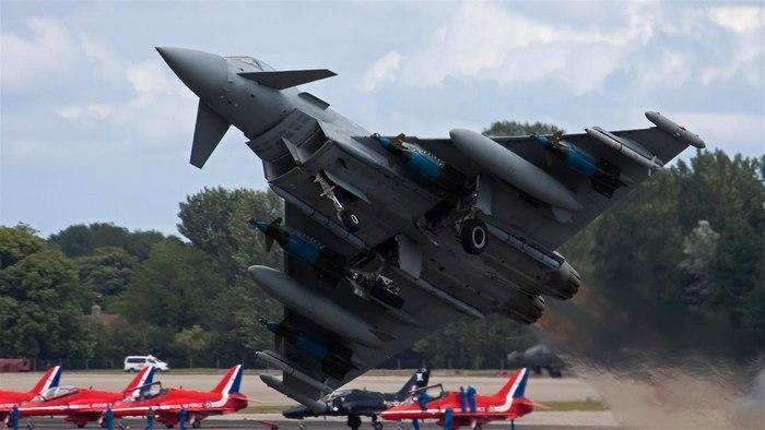 Eurofighter Typhoon фото вооружение