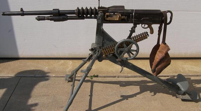 Пулемет Гочкис станковый