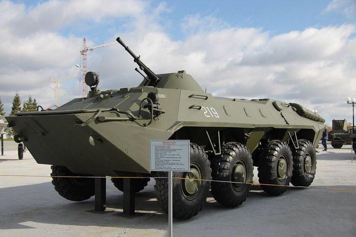 Музей БТР-70