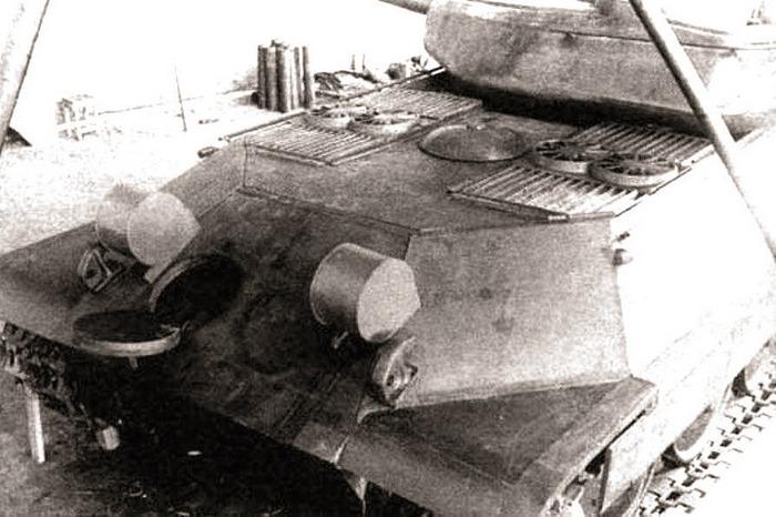 ИС-6 вид сзади