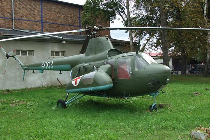 Ми-1 вертолет фото