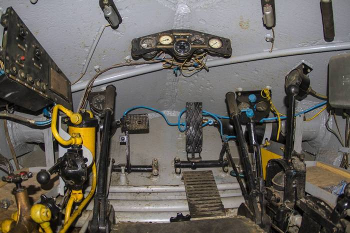 ИС 3 внутри танка