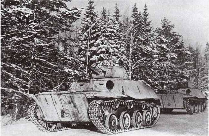 Танк Т-40 фото