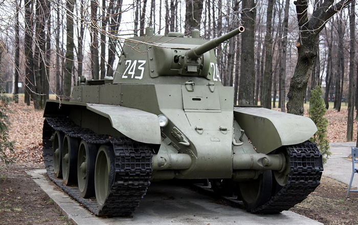 БТ-7 танк