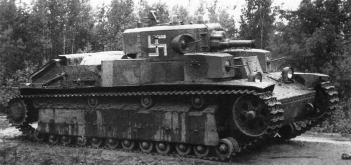 Т-28 у немцев