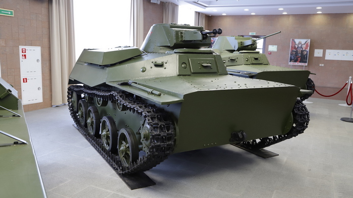 Танк Т-40 в музее