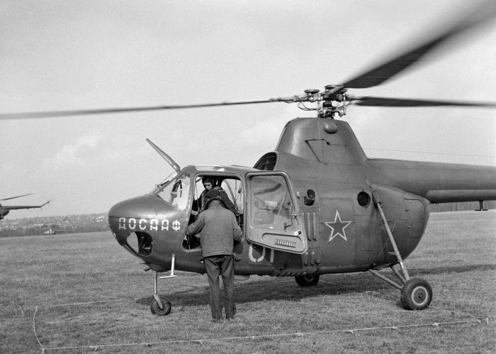 Многоцелевой вертолет Ми-1М