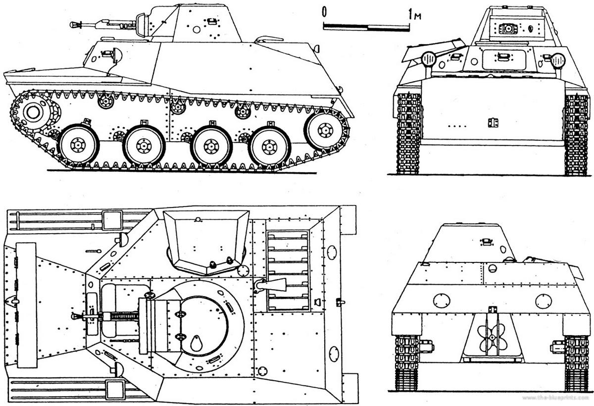 Т-40 чертёж