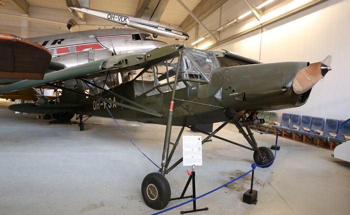 Самолет Fi 156 Storch