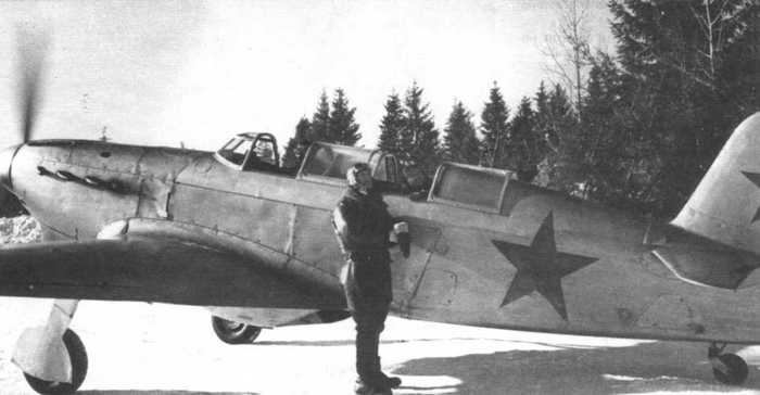 Як-7 истребитель