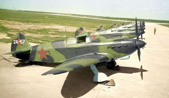 Самолёты ЯК-7