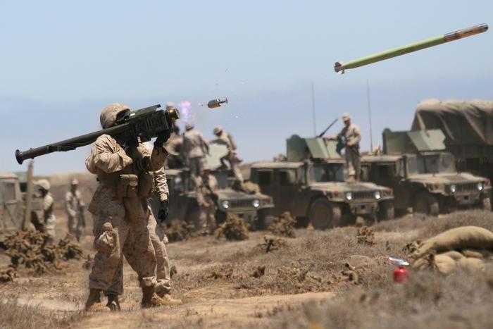 Сирийский солдат с ПЗРК