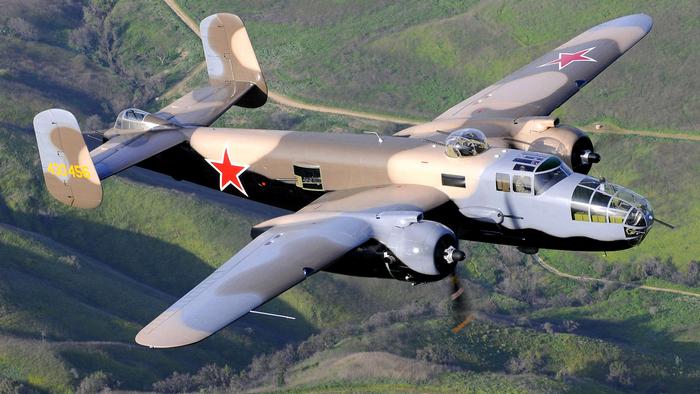 Б-25 полёт