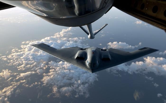 B-2 Spirit дозаправка
