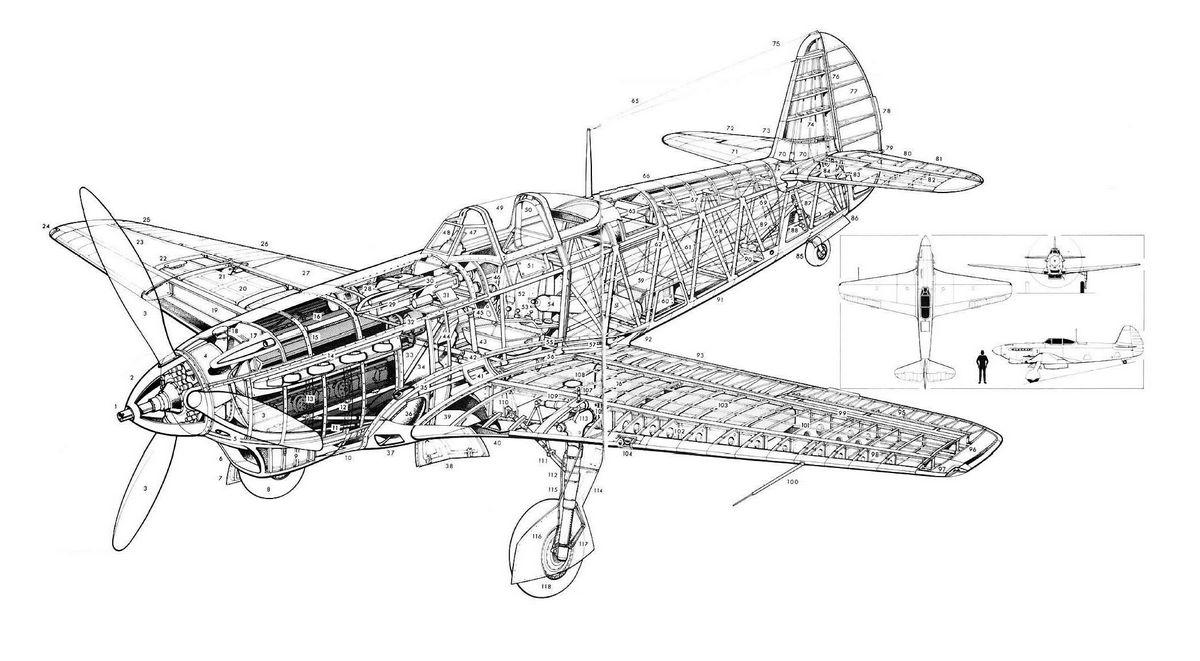 ЯК-1 конструкция