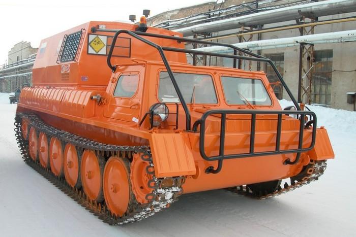 Вездеход ГАЗ-34039 Ирбис