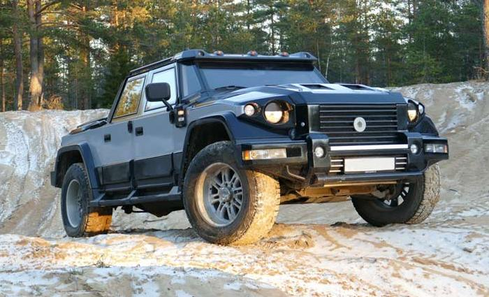 Автомобиль комбат т-98