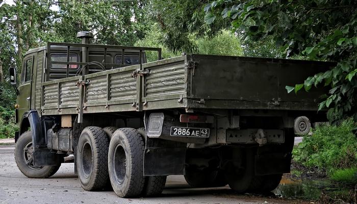 КАМАЗ 53212 военный