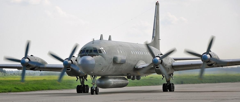 Самолет радиотехнической разведки Ил-20